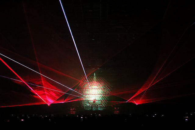 Laser Cube