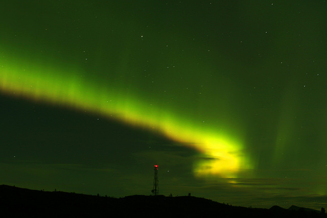 Nordlys over Molde