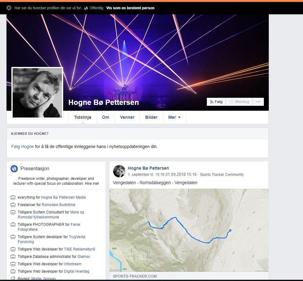 Offentlig FB-profil