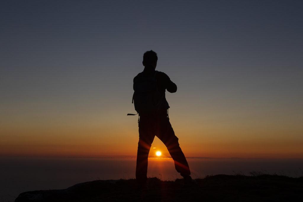 Solnedgang på Andøya