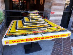 138 cm stor pizza