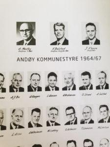 Første kommunestyre i Andøy kommune