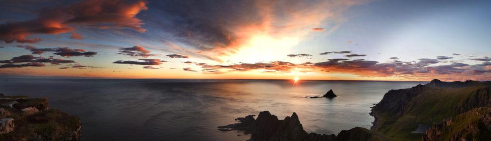 Midnight Sun Panorama