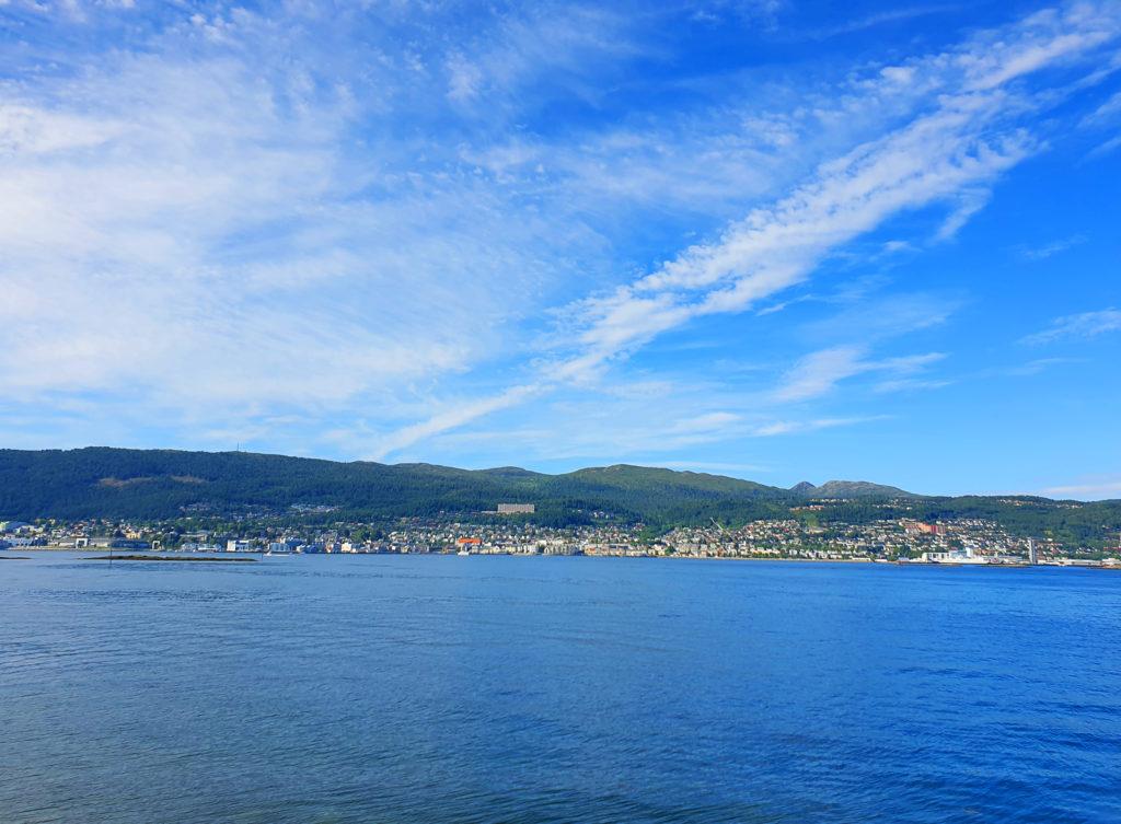 Til Molde med båt