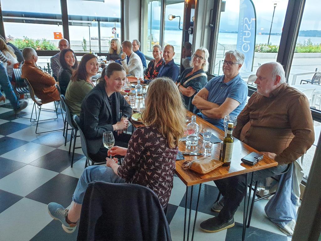 Avskjedsfest for Hogne på Glass i Molde