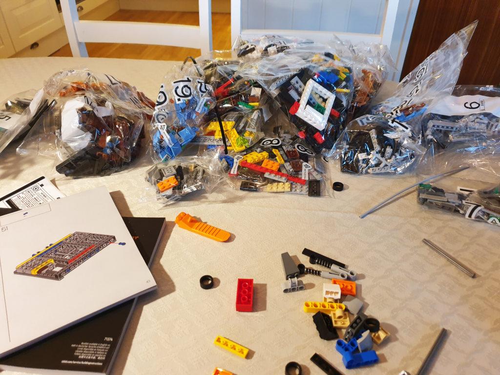 Åpnet Lego NES