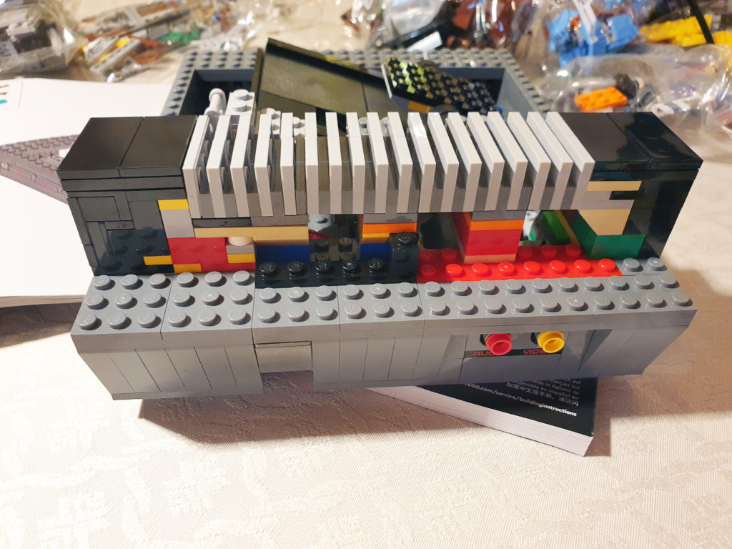 Detaljer på Lego NES