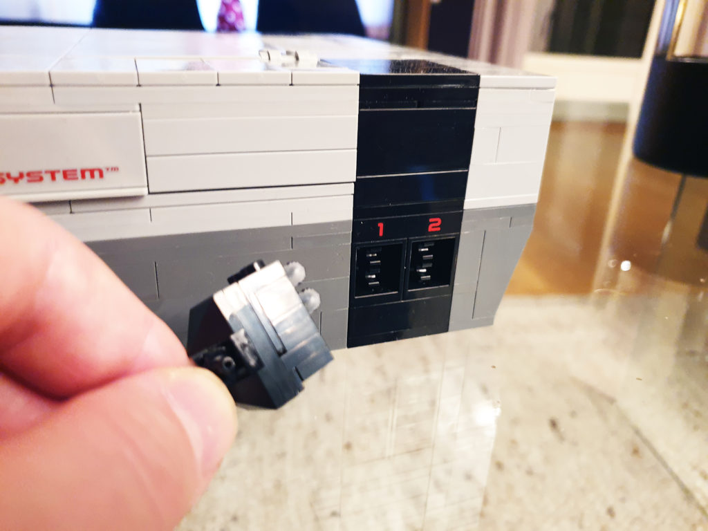 Plugg for Lego NES