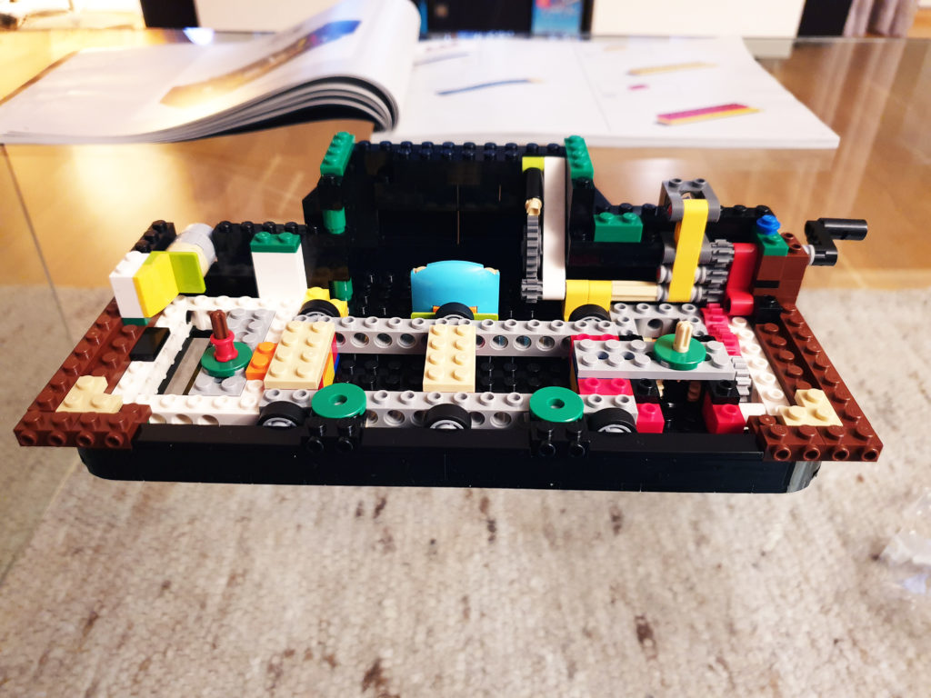 Innmat i TV for Lego NES
