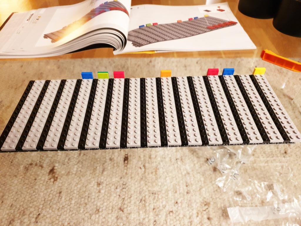 Bakgrunn på Lego NES