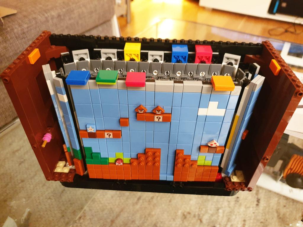 Lego NES - Første brett inne i TV-en