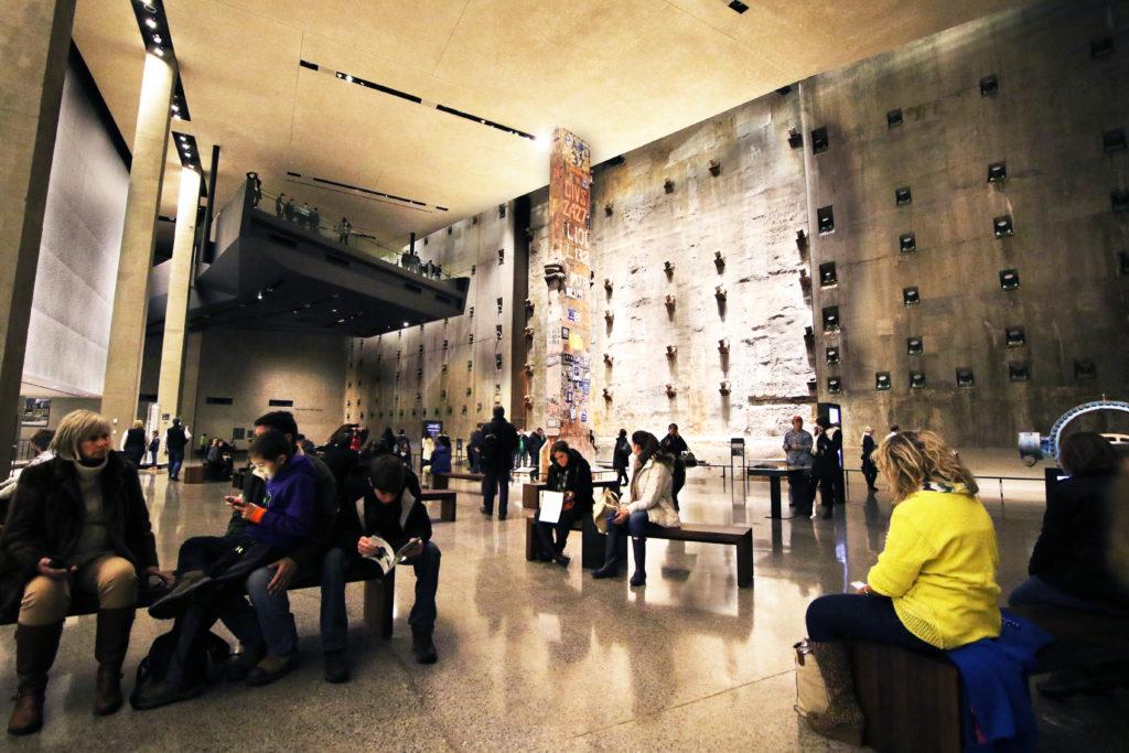 Nine Eleven Memorial Ground Floor